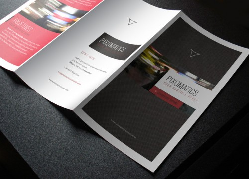 v2media & advertising brochure printing